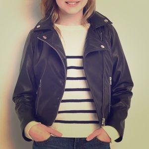 GAP Faux Leather Biker Jacket 😍